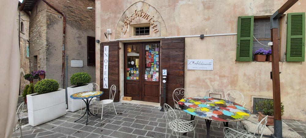 L'Alchimista – ingresso enoteca ristorante