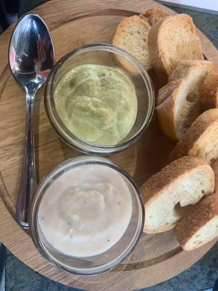 RIcordi -Crema di asparagi e di fagioli