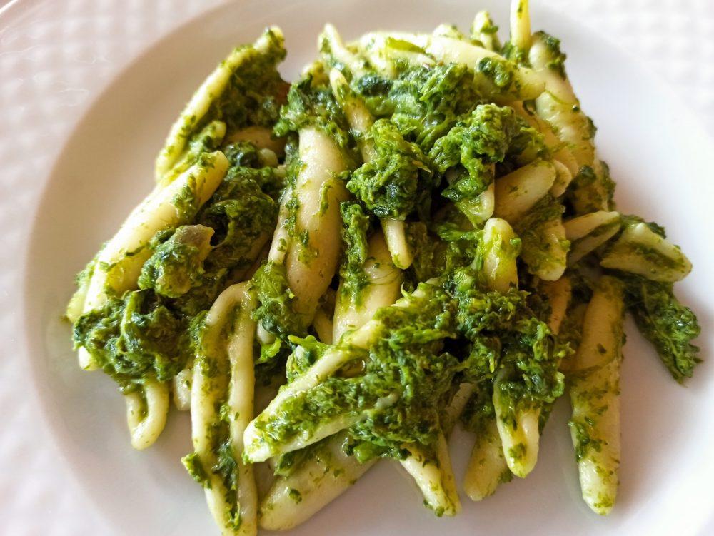 Agriturismo Serafino Family, I Cicatielli con Broccoli paesani e Guanciale artigianale