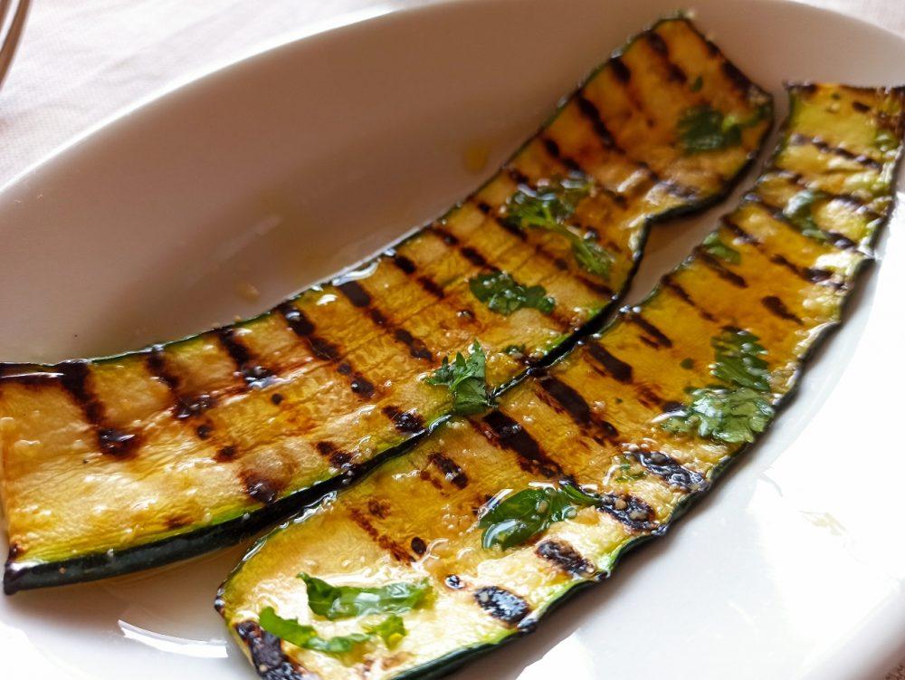 Agriturismo Serafino Family, Le Zucchine grigliate