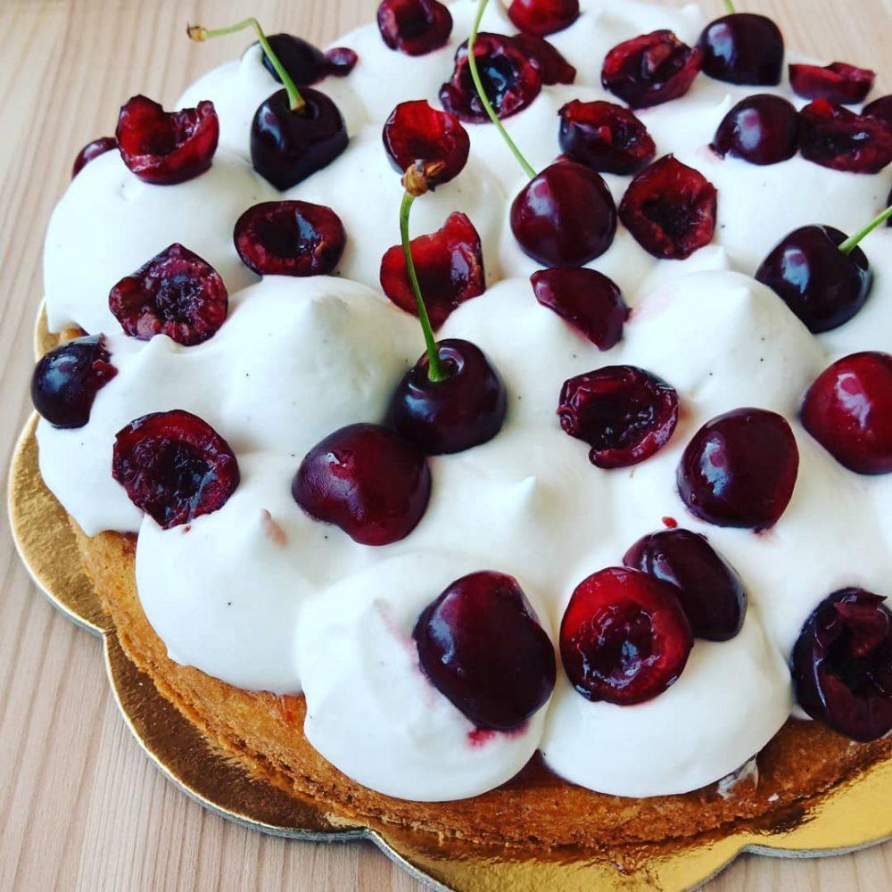 ArteSana Lab - torta con ciliegie