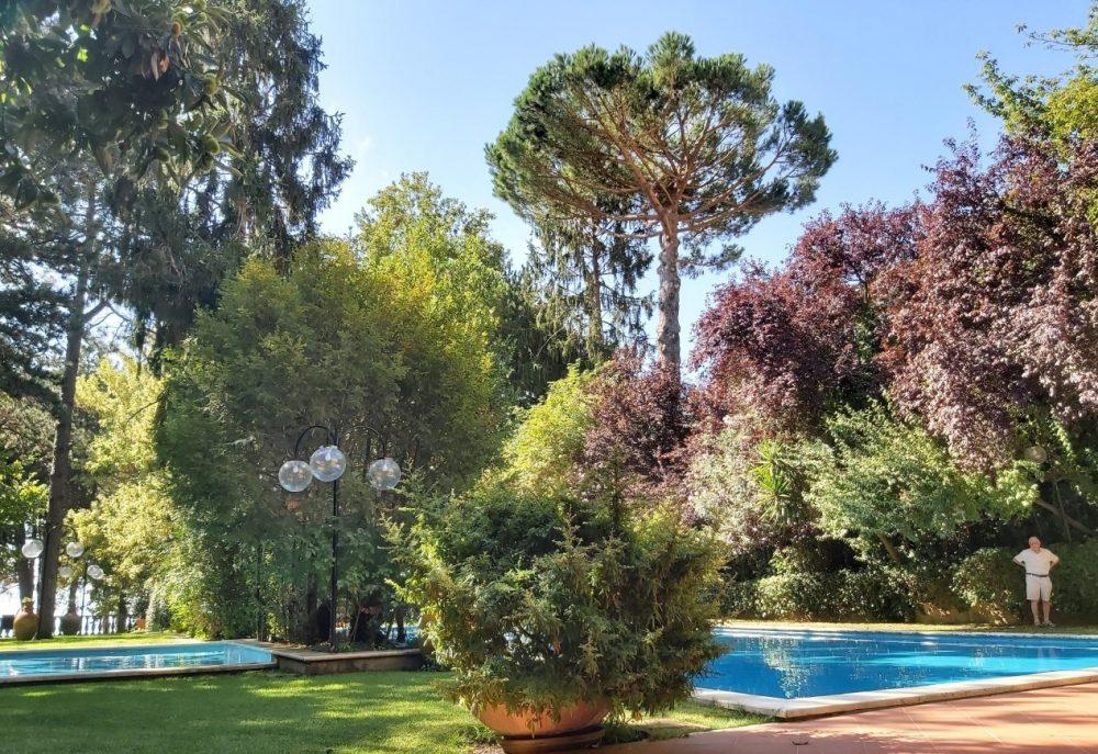 Benito al Bosco - Scorcio della piscina