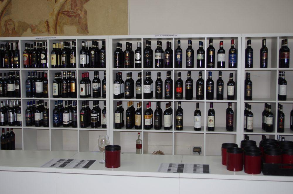 Bottiglie in Degustazione