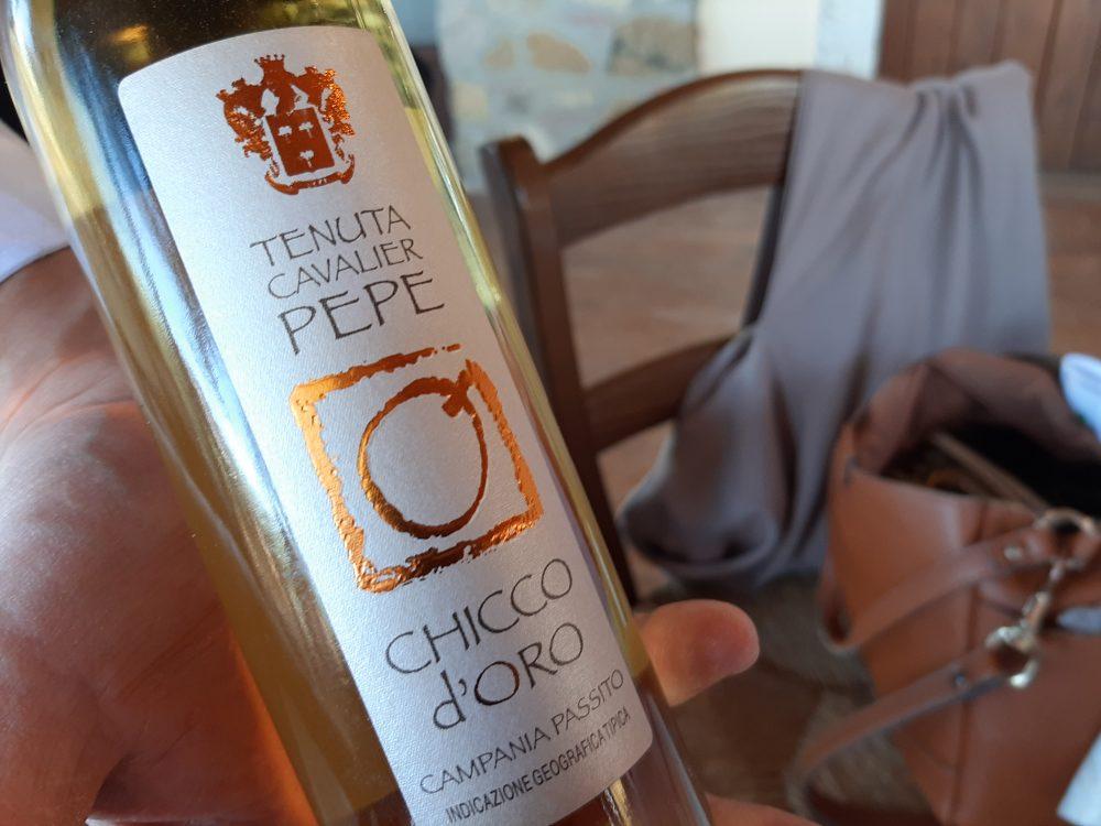 Chicco d'oro Passito Campania Igt Tenuta Cavalier Pepe