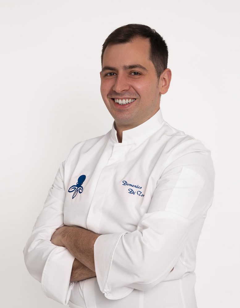 Domenico Di Tondo, chef Terradimare