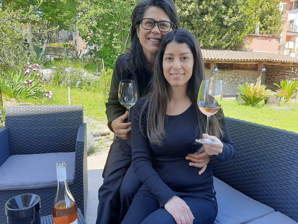 I Favati mamma Rosanna e figlia Carla