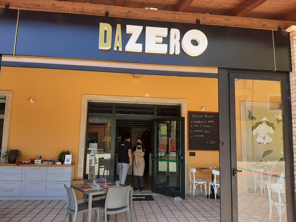 Ingresso Pizzeria Dazero a Vallo della Lucania