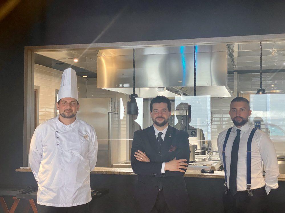 John Restaurant Casa Madre Italia - Nicola Lanza, Salvatore Matarazzo e Lino Amalfi