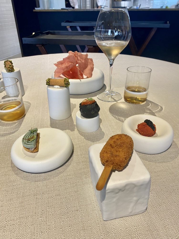 John Restaurant Casa Madre Italia - amouse bouche