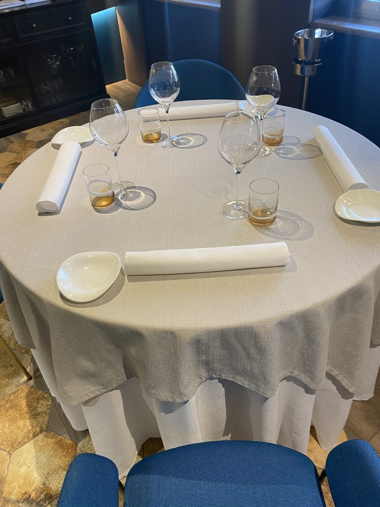 John Restaurant Casa Madre Italia - mise en place