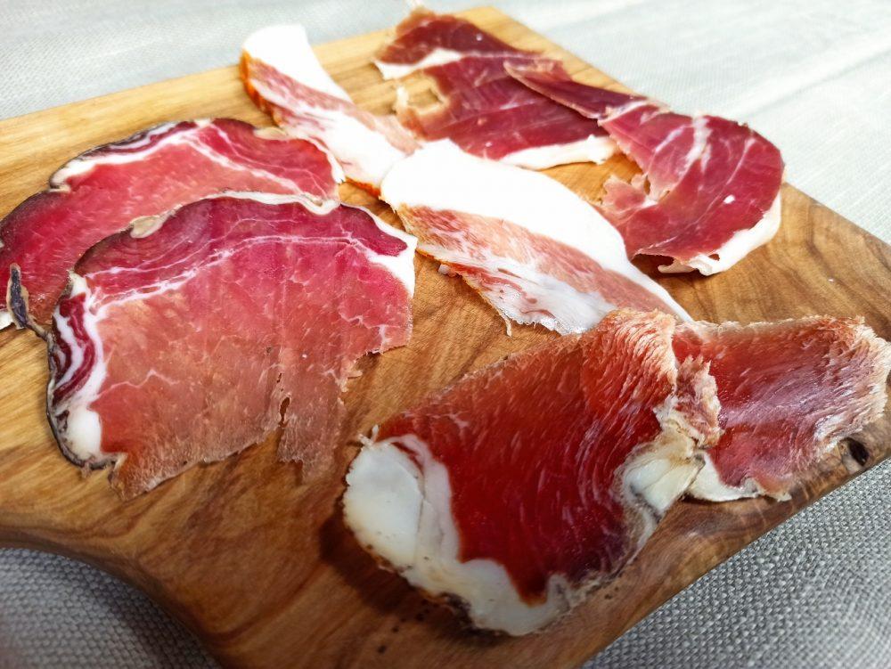 L'Oste & il Porco - Filetto, Capocollo, Guanciale e Prosciutto affinato in vinacce