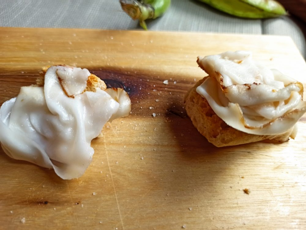 L'Oste & il Porco - I Crostini con il lardo affumicato artigianalmente