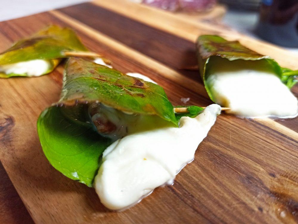 L'Oste & il Porco - Il Primo Sale e Noci arrostiti in foglie di limone