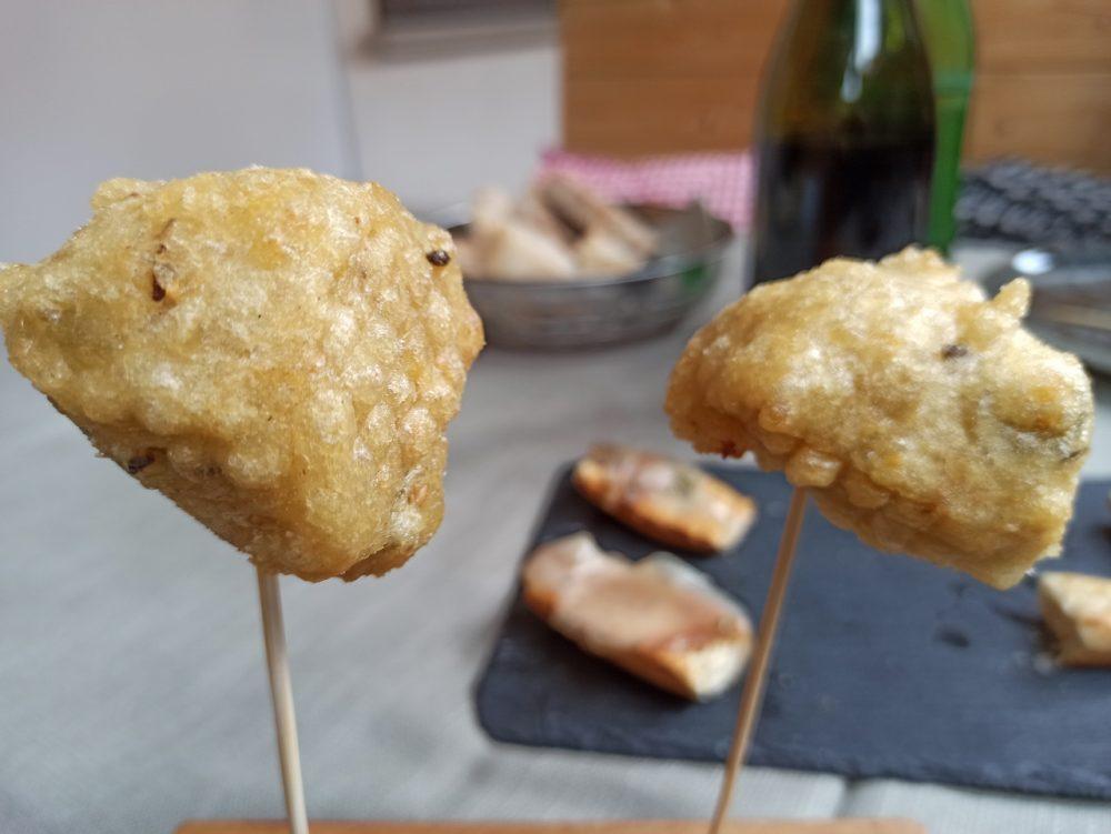 L'Oste & il Porco - Le Frittelle di Fave fresche e Baccala'