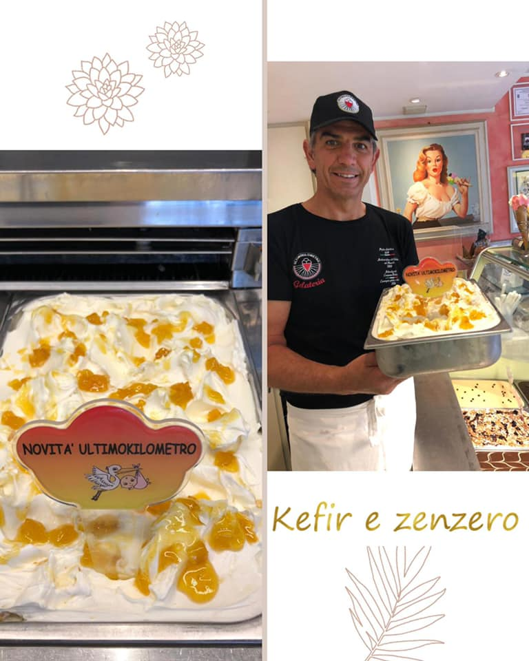 Paolo con Kefir e Zenzero