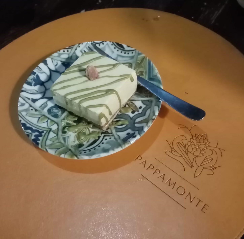 Pappamonte - mousse al pistacchio