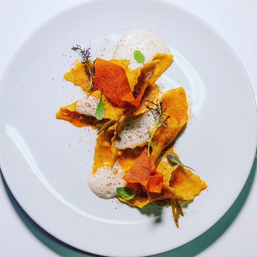 Taverna Angelica - ravioli ripieni di baccala