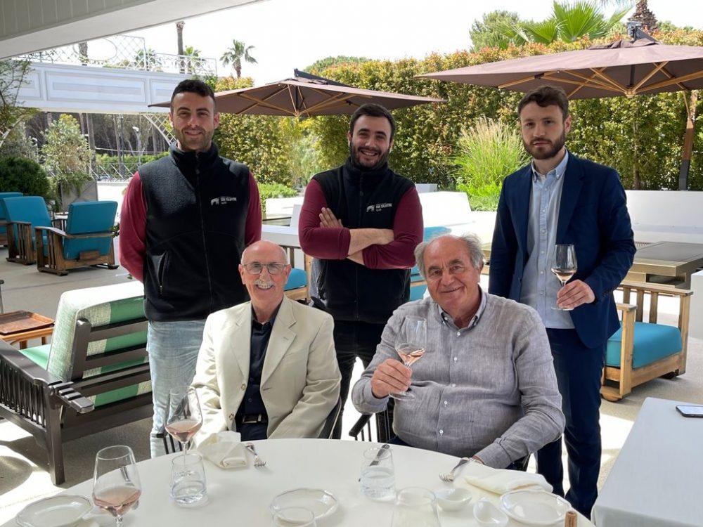 da sinistra - Angelo, Charlie, Dante Enrico e Peppino