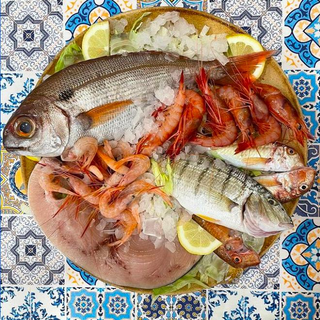 'A Taverna d'è Zoccole - pescato del giorno