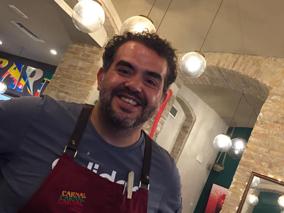Carnal, lo chef Roy Caceres
