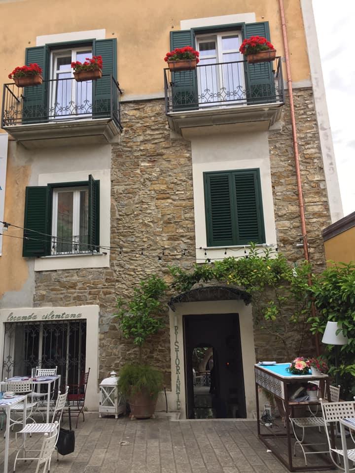 Ristorante Pancrazio Palazzo Gentilcore, l'ingresso