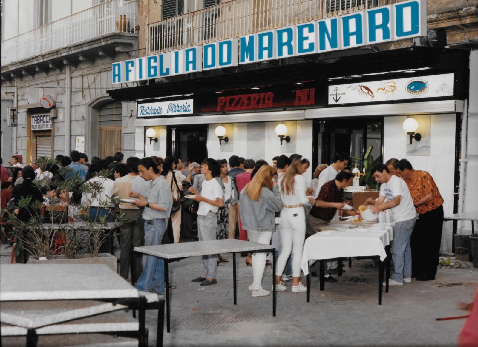30 anni fa l'apertura a via Foria 'a figlia d''o marenaro