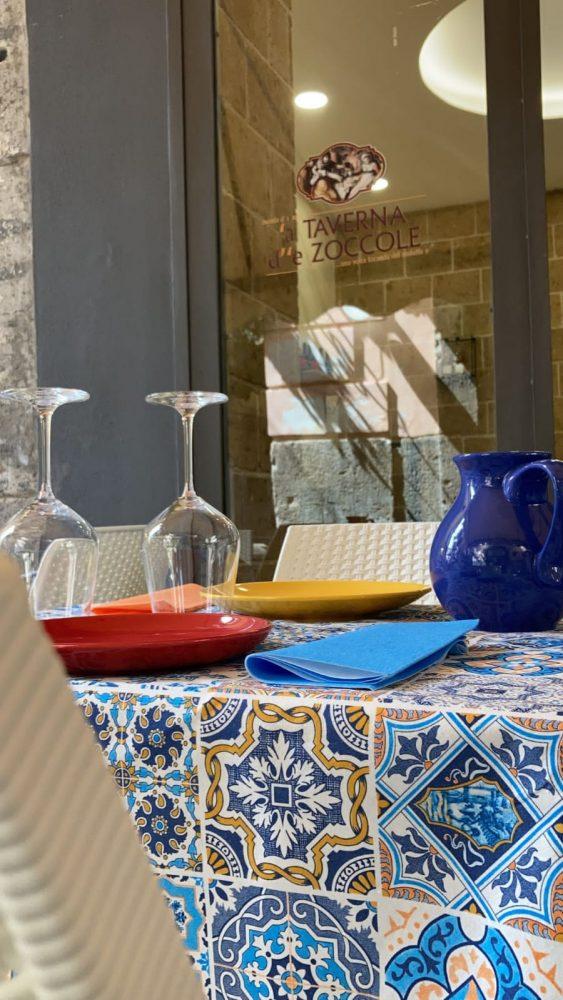 'A Taverna d'è Zoccole - particolare esterno