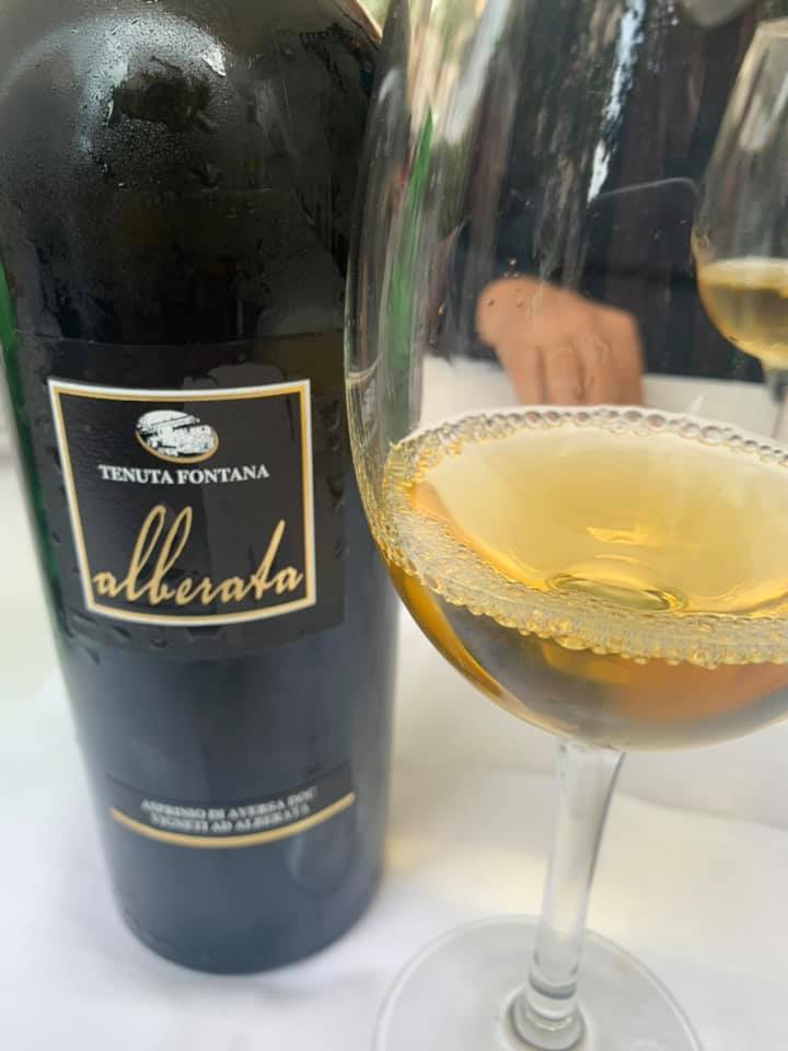 Alberatata Asprinio d'Aversa doc 2018, Tenuta Fontana