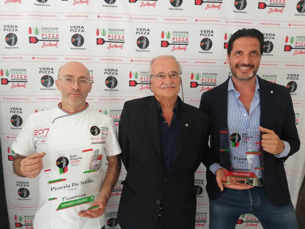 Antonio Pace con Attilio Bacchetti e Aniello Beneduce