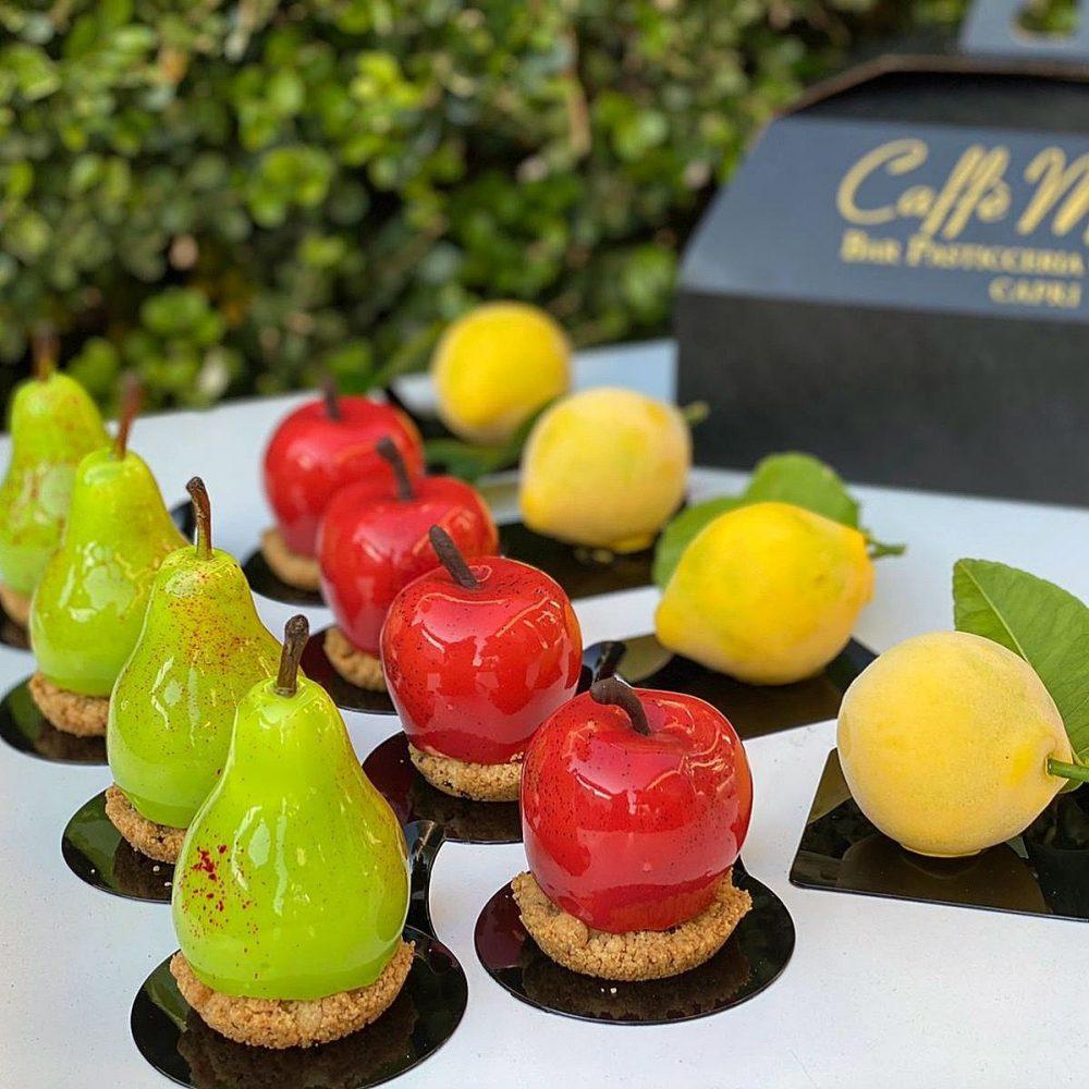 Caffe Manari I Nuovi Frutta dessert