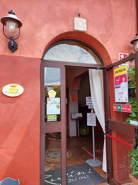 Casale Rufini - l'entrata