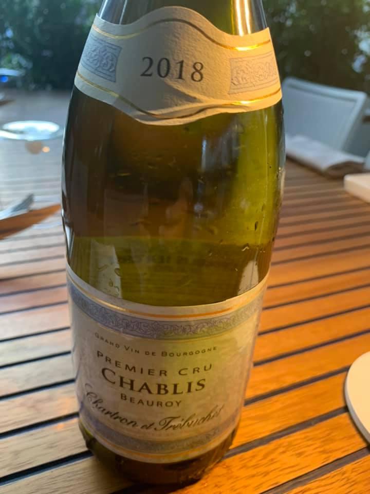Chartron et Trébuchet - Chablis 1er Cru Beauroy 2018