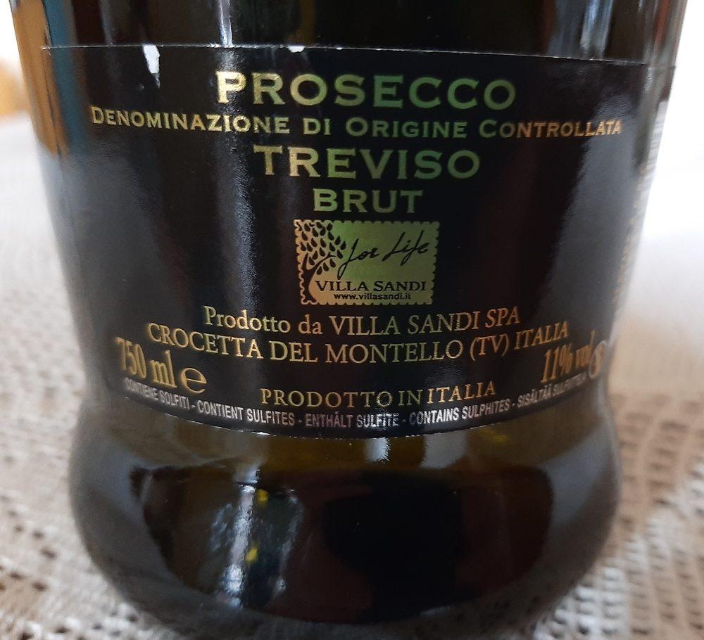 Controetichetta Il Fresco Prosecco Treviso Doc Villa Sandi