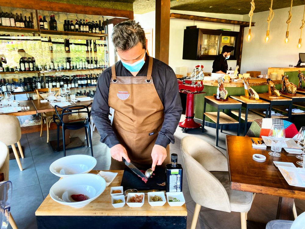Granfuoco, servizio Table Side