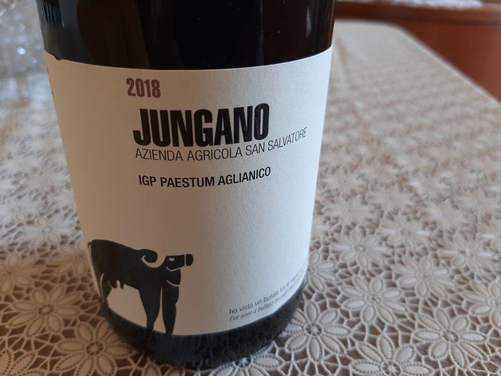 Jungano Aglianico Paestum Igp 2018 San Salvatore