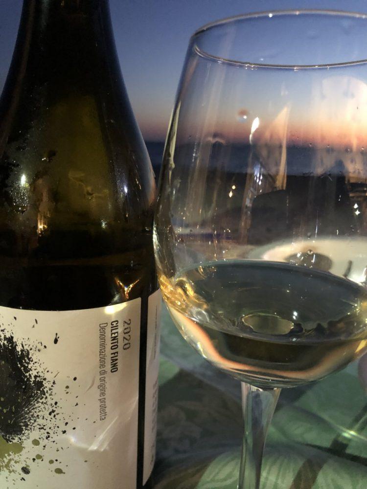 La scogliera - il vino