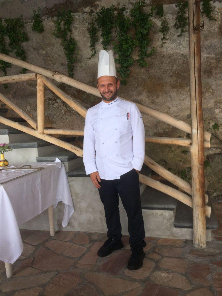 Lo chef Giuseppe Stanzione