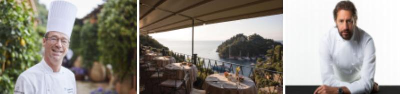 Luigi Taglienti guest chef allo splendido, a Belmond Hotel