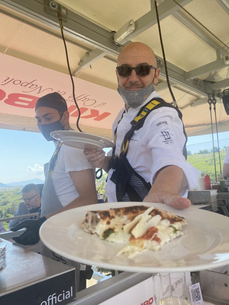 Lunch in the sky - Franco Pepe
