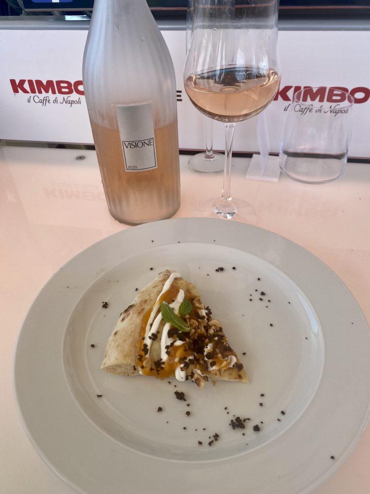 Lunch in the sky -La Crisommola del Vesuvio