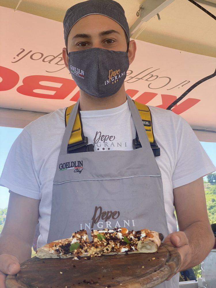 Lunch in the sky - collaboratore Pizzeria Pepe in Grani