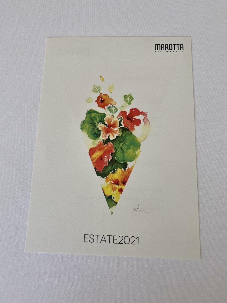 Marotta Ristorante - Menu' Estate 2021