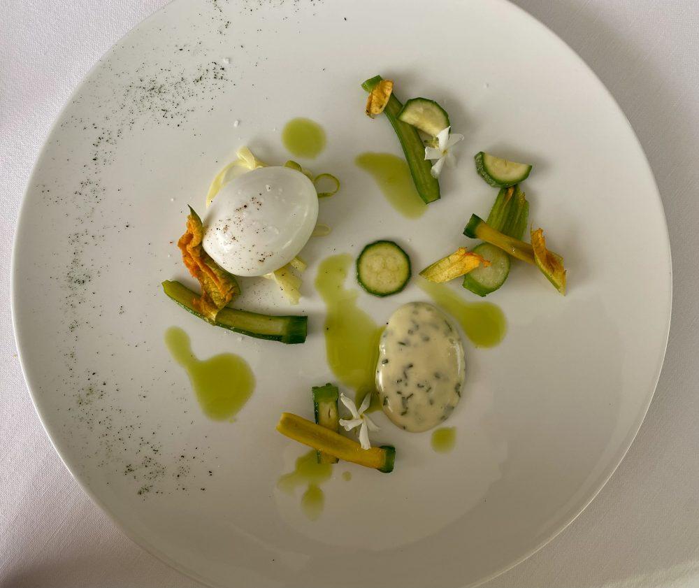 Marotta Ristorante -Uovo e zucchine