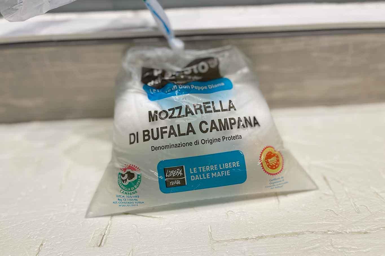 Mozzarella don Peppe Diana
