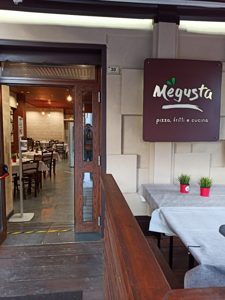 Pizzeria e Ristorante Megusta -L'ingresso