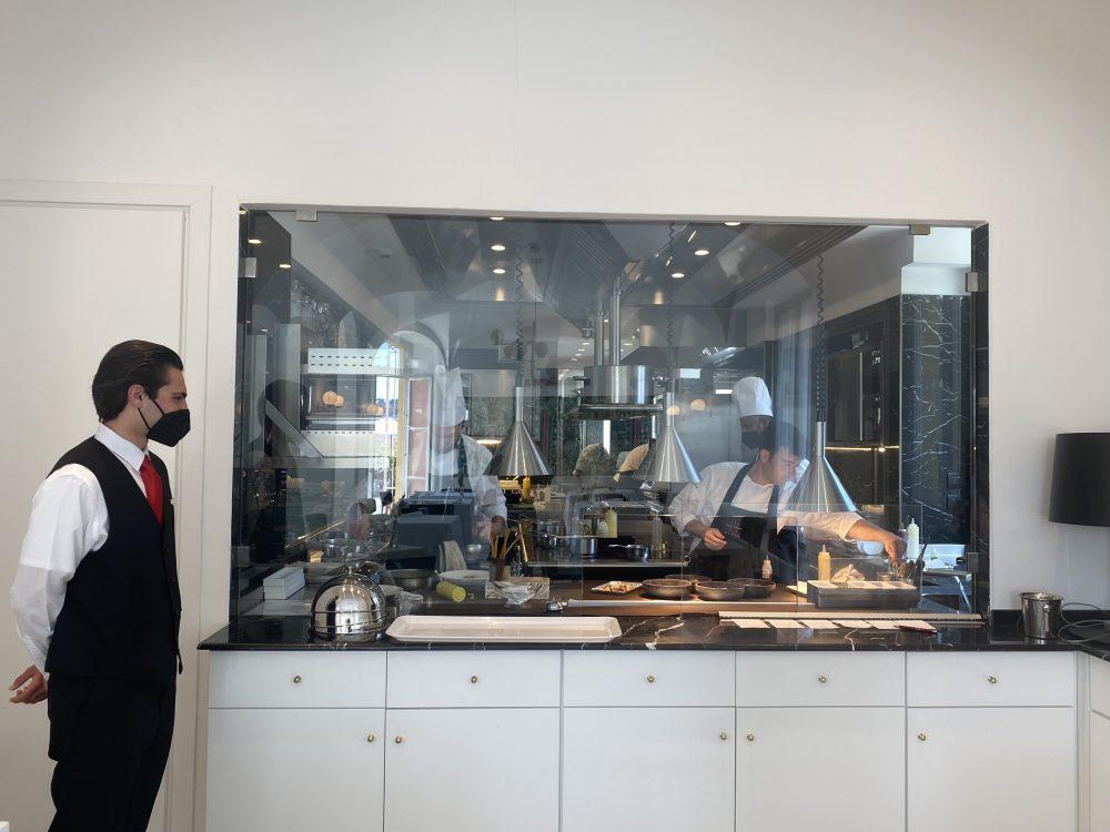 Ristorante Lorelei - cucina a vista
