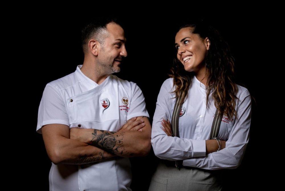 Sasa' Martucci e Giovanna Orciuoli