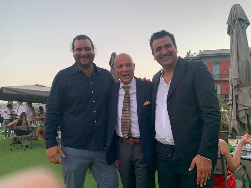 Tani Avallone fra Toto Grasso e Francesco Cappuccio
