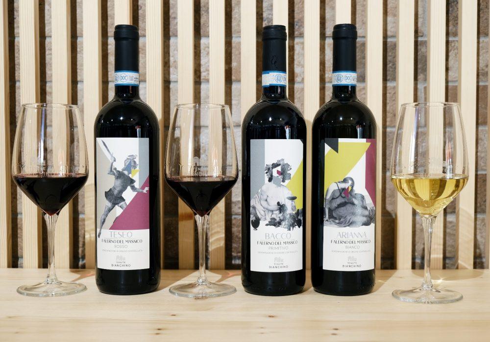 Tenute Bianchino e Sasa' Martucci - Vini in degustazione