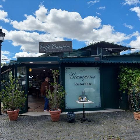 Terrazza Ciampini - l'entrata